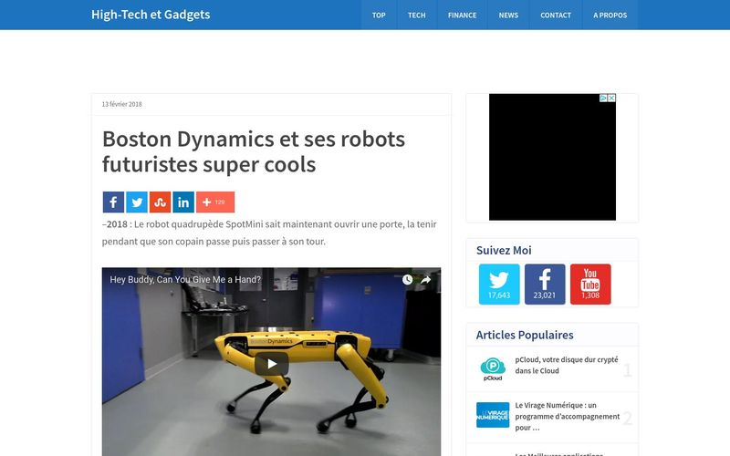 Vincent Abry : Boston Dynamics et ses robots futuristes super cools